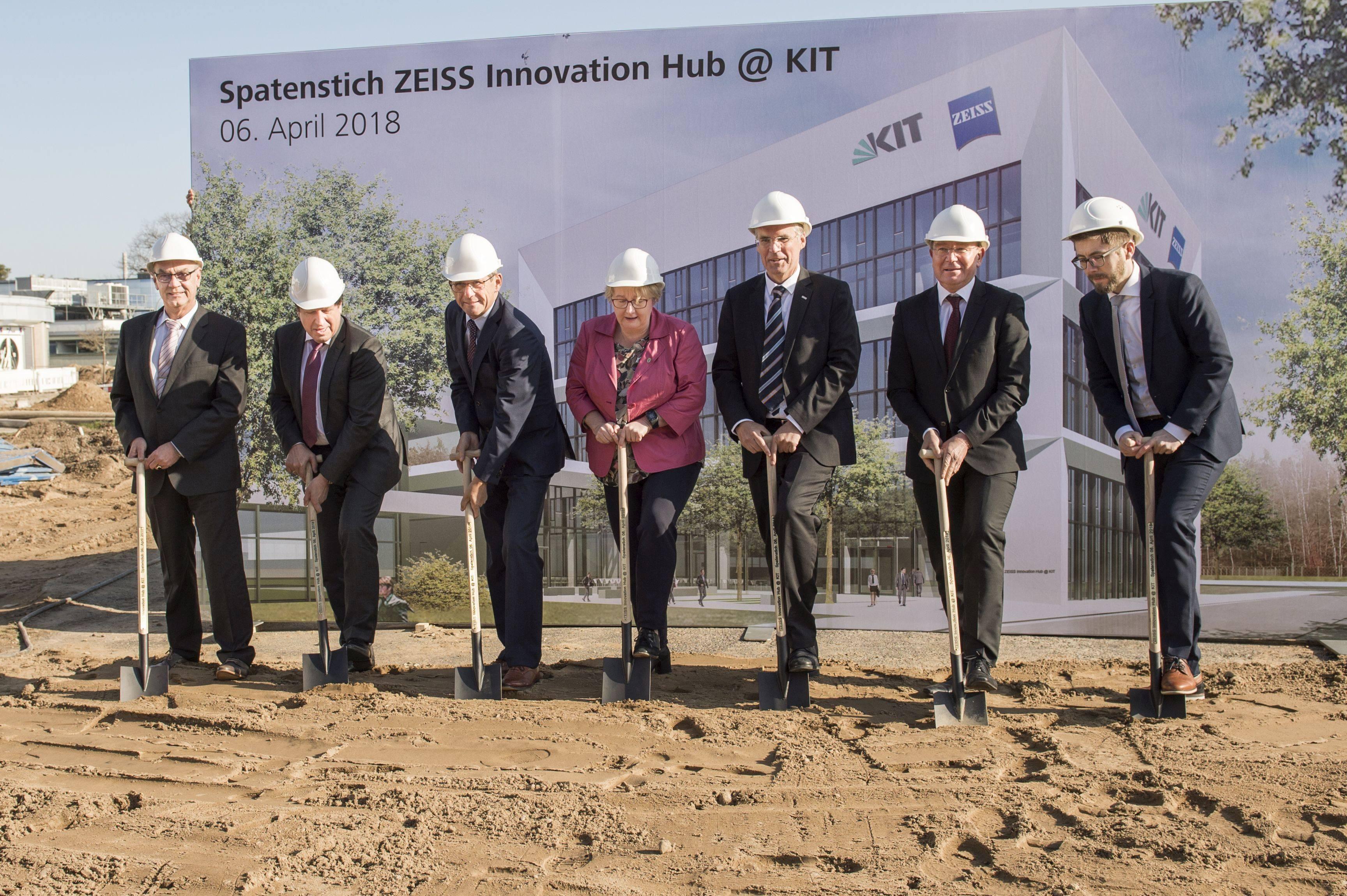 2018_037_Spatenstich fuer den ZEISS Innovation Hub KIT