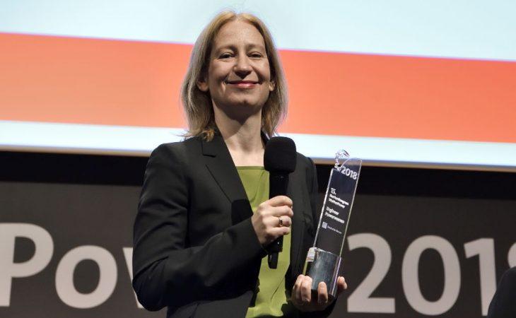 Sophia Hatzelmann ist Engineer Powerwoman 2018