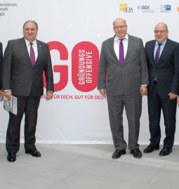 Bundeswirtschaftsminister Altmaier startet Gründungsoffensive