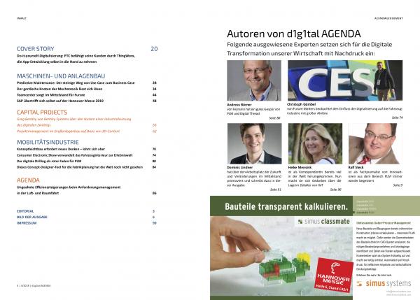 d1g1tal AGENDA 2019/01 (print und digital)