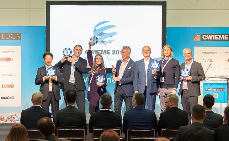 Preisverleihung der CWIEME Global Awards 2019