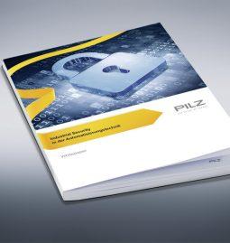 """Das Whitepaper """"Security"""" von Pilz hilft, zentrale Aspekte von Security zu verstehen und Lösungsansätze in die Praxis umzusetzen."""