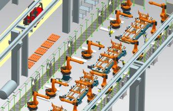 Zukünftige Softwarearchitektur für die digitale Fabrik