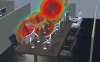 Infektionsrisiko durch Simulation senken