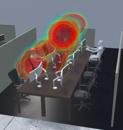 Simulation-Aerosole